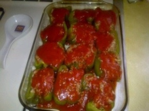 Ms. Jenny's Stuffed Peppers