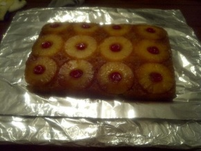 Ms. Jenny's Pineapple Upside-Down Cake