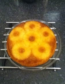 BBC2's Coconut Pineapple Upside-Down Sponge