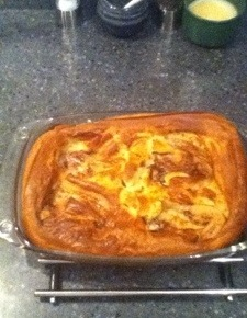 Lamb Toad in the Hole