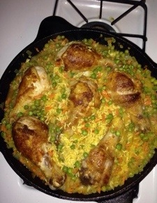 Jessica Hall's Cuban Seasoned Chicken With Rice