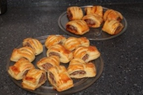 Sausage Rolls With A Twist…