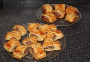 Sausage Rolls With ATwist…