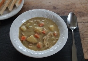 Chicken & Vegetable Mulligatawny Soup