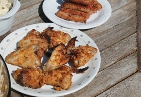 Tandoor Style Indian ChickenWings