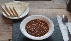 Lentil & Bacon Soup