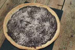 Chocolate and Banana Tart With a Quick & Easy Banana Ice Cream – A EurovisionDessert.